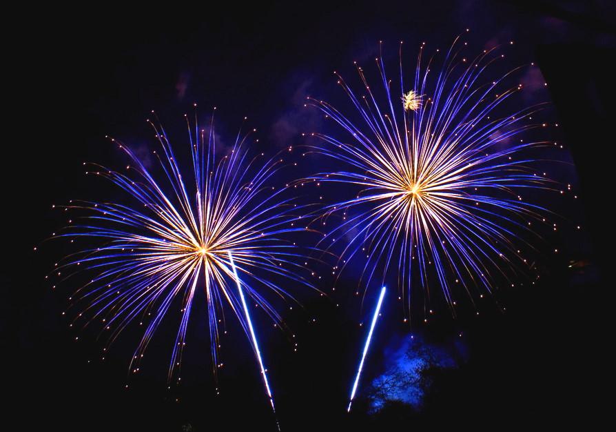 Feuerwerk Geburtstag